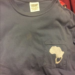 Comfort colors Africa shirt